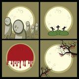Ajuste um Halloween Fotografia de Stock Royalty Free