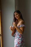 Ajustement du violon Image libre de droits