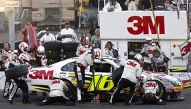 Ajustement frais de souterrain de cuvette de NASCAR Sprint le 18 avril 500 Photographie stock