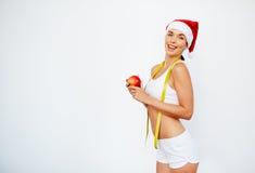 Ajustement pour Noël Photographie stock libre de droits