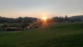 ajustes del sol Foto de archivo