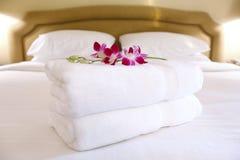 Ajustes do quarto de hotel Imagem de Stock