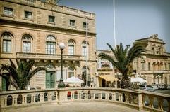 Ajustez à la ville Xewkija, île de Gozo - Malte Image libre de droits