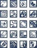 Ajustez le graphisme de calcul d'Internet Photographie stock