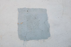 Ajustez, rudement peint avec la peinture sur le mur pour un fond avec le cadre Photographie stock libre de droits