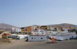 ajuy канереечное удя село Испании острова fuerteventura стоковое изображение rf