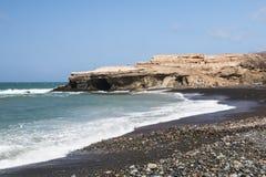 Ajuy Beach, Fuerteventura Royalty Free Stock Image