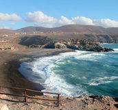 Ajuy Beach in Fuerteventura, Canary Islands, Stock Photography