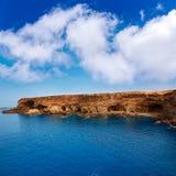 Ajuy beach Fuerteventura at Canary Islands Stock Images
