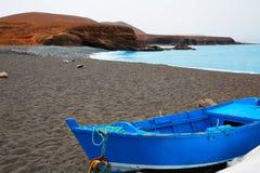 Ajuy beach Fuerteventura at Canary Islands Royalty Free Stock Image