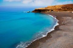 Ajuy beach Fuerteventura at Canary Islands Stock Photo