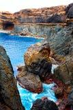 Ajuy Caleta Negra beach in Fuerteventura Royalty Free Stock Image