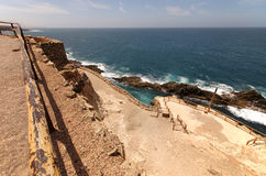 Ajuy coves Fuerteventura Canary islands Spain Stock Photo