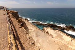Ajuy coves Fuerteventura Canary islands Spain Stock Photo