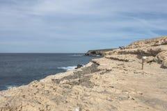Ajuy in oostelijke Fuertaventura stock afbeelding