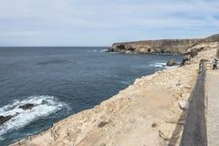 Ajuy in oostelijke Fuertaventura royalty-vrije stock fotografie