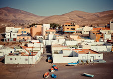 Ajuy - picturesque village on Fuerteventura Royalty Free Stock Photos