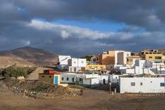 Ajuy - picturesque village on Fuerteventura Stock Image