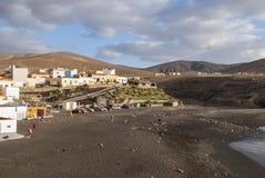 Ajuy - picturesque village on Fuerteventura Stock Photos