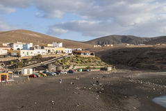 Ajuy - picturesque village on Fuerteventura Royalty Free Stock Photography