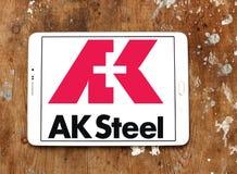 AK λογότυπο εκμετάλλευσης χάλυβα Στοκ φωτογραφία με δικαίωμα ελεύθερης χρήσης
