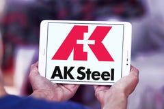 AK λογότυπο εκμετάλλευσης χάλυβα Στοκ εικόνες με δικαίωμα ελεύθερης χρήσης