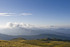 ak πέρασμα βουνών kaya altai Στοκ Εικόνα
