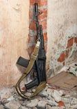 AK-47 с складывая баттом стоковое фото