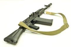 AK-47卡拉什尼科夫修改saiga 库存照片