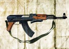 AK-47卡拉什尼科夫 库存照片