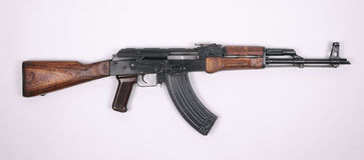 AK-47攻击步枪的AKM版本 免版税库存照片