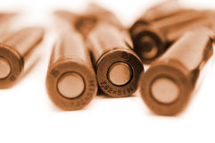 AK-47 cartridges Royalty Free Stock Photo