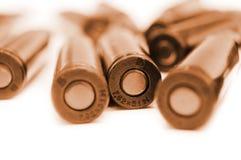 AK-47 cartridges Royalty Free Stock Photo