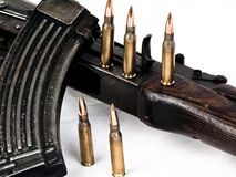 AK 47 Gewehr Lizenzfreie Stockfotografie