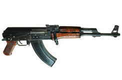 Ak-47 machine gun Royalty Free Stock Photo