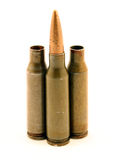 AK-74 ammo Royalty Free Stock Images