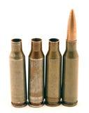 Ak-74 munitie Royalty-vrije Stock Foto's