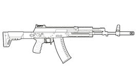 AK-12 _ Royaltyfri Fotografi