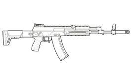 AK-12 bluebells Бесплатная Иллюстрация