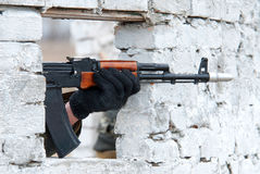 AK geweer Stock Foto's