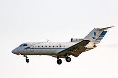 Ak hält Aero Yakovlev Yak-40 ab Lizenzfreie Stockfotografie