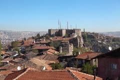 Ak-Kala fortress on the hill Hissar. Ankara. Turkey. Stock Images
