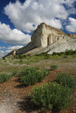 Ak-Kaya skała w Crimea Obrazy Royalty Free