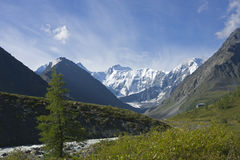 Ak-Kem river near mt.Belukha, Altai, Russia Royalty Free Stock Photography