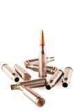 AK kogel en shells Royalty-vrije Stock Foto's