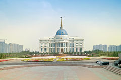 Ak Orda Presidential Palace Stock Photo
