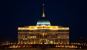 Ak Orda Presidential Palace in Astana, Kazakhstan Royalty Free Stock Photos