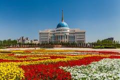 The Ak Orda Presidential Palace, Kazakhstan, Astana, Royalty Free Stock Photo