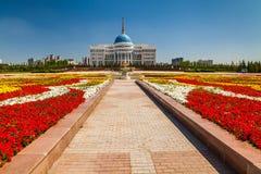 The Ak Orda Presidential Palace, Kazakhstan, Astana, Royalty Free Stock Image