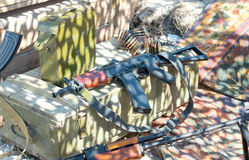 The AK rifle Stock Images